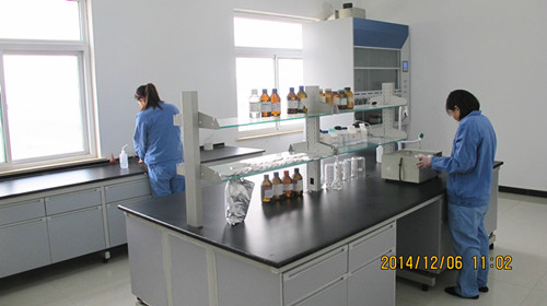 The physical and chemical laboratory